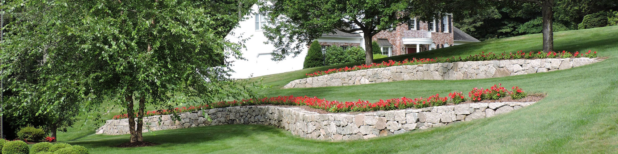 Stone Walls Dacosta Landscaping